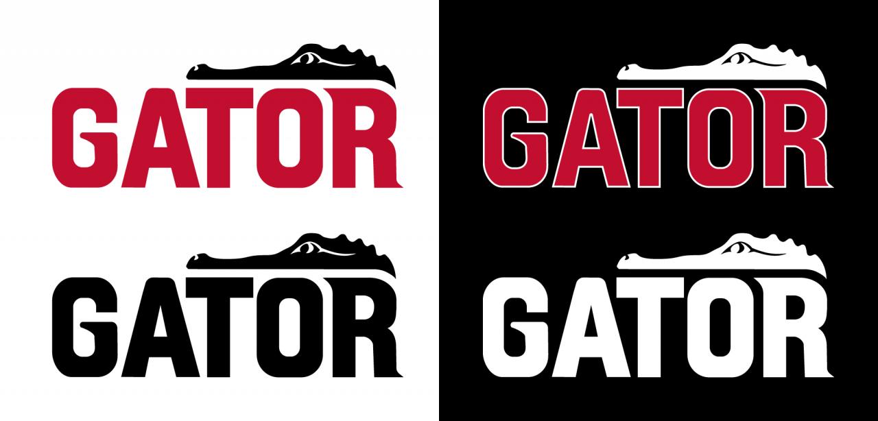2020 Gator Logo – Color Variants